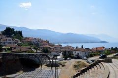 Ohrid, Macédoine image libre de droits