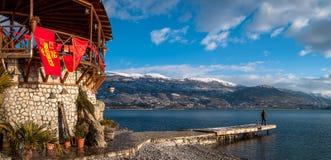 Ohrid, Macedonië Stock Foto's