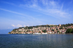 Ohrid in Macedonia Royalty Free Stock Photography