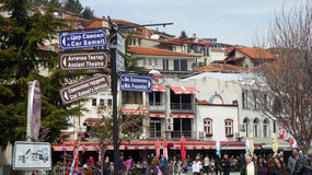 Ohrid, Macedonia, on Easter. Royalty Free Stock Photo