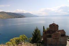 Ohrid, Macedonia. Scenic view at Ohrid, Macedonia Stock Photos