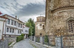 Ohrid, Macedonia - St Sophia Fotos de archivo