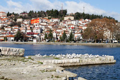 Ohrid in Macedonia Stock Photography