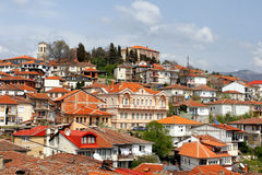 Ohrid, Makedonien Stockbild