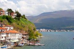 Ohrid, Makedonien Stockfotografie