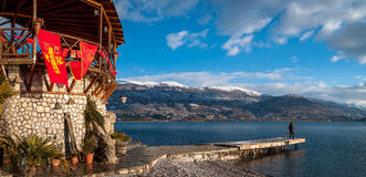 Ohrid, Makedonien Stockfotos