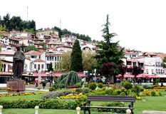 Ohrid, Republic Of Macedonia. Lake And town Ohrid, Republic Of Macedonia Stock Image
