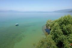 Ohrid See Lizenzfreies Stockbild