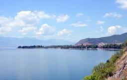 Ohrid See Lizenzfreie Stockbilder