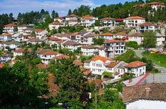Ohrid stad i Makedonien Royaltyfri Bild