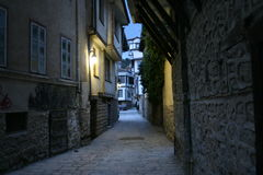 Ohrid Streets Royalty Free Stock Photography