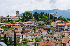Ohrid town in Macedonia Stock Photo