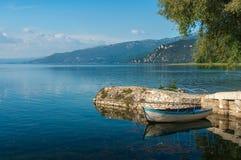 Ohridmeer in Macedonië Royalty-vrije Stock Afbeeldingen
