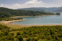 Ohridsko lake - Macedonia Royalty Free Stock Photos
