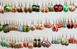 Ohrringe lizenzfreies stockbild