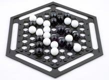 Ohrschneckentabellenspiel, getrennt Lizenzfreie Stockbilder