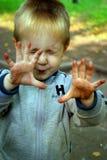 ohydne dłonie Fotografia Stock