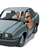 ohyfsad chaufför Royaltyfria Bilder