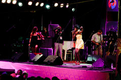 Oi Va Voi, festival 2009 de Koktebel de jazz Photo stock