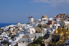 Oia - église - santorini (Cyclades) Image libre de droits