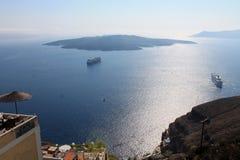 oia νησιών santorini Στοκ Εικόνες