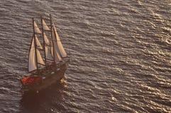 oia παλαιό ηλιοβασίλεμα σκ Στοκ Εικόνες