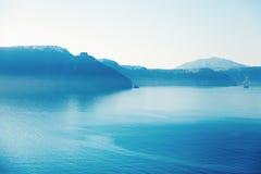 oia όψη santorini Στοκ εικόνα με δικαίωμα ελεύθερης χρήσης