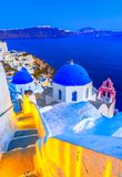 Oia, остров Santorini, Греция, Европа стоковое фото