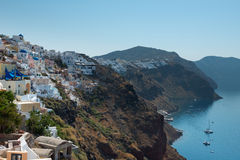 Oia by Royaltyfria Bilder
