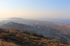 Oia auf Santorini Insel Lizenzfreies Stockfoto
