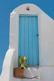 Oia bonito, Santorini Fotografia de Stock Royalty Free
