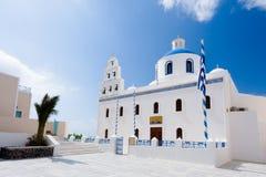 Oia Church Santorini Royalty Free Stock Photos