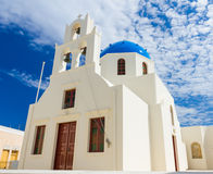 Oia church Stock Images
