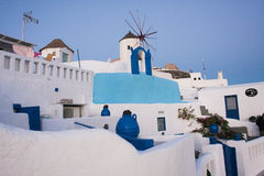Oia city Santorini Greece Stock Image