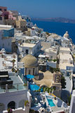 Oia city Santorini Greece Royalty Free Stock Images