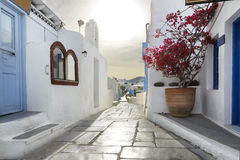 Oia city in Santorini Stock Images