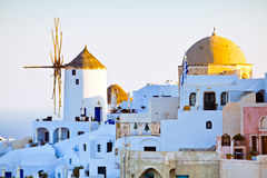 Oia city view, Santorini Royalty Free Stock Photography