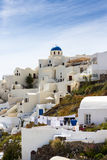 Oia City view Royalty Free Stock Images