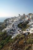 Oia Cliff, Santorini Stock Photography