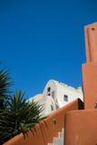Oia. Colorful houses in oia village, santorini Stock Photo