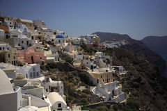 Oia by day Stock Images