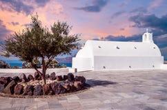 Oia-Dorf, Inseln Santorini Cyclade, Griechenland Stockfoto