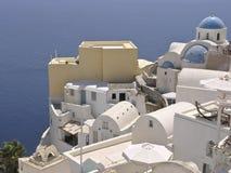 Oia, Grecia Fotografia Stock