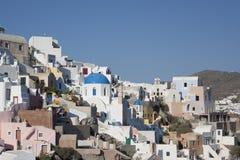 Oia Grecja Santorini Zdjęcie Royalty Free