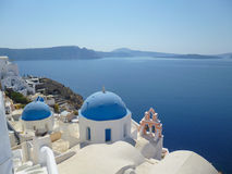 Oia Ia in Greece Stock Photos