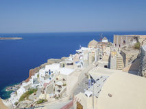 Oia Ia in Greece Royalty Free Stock Photography