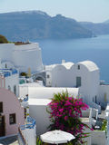 Oia Ia in Greece Royalty Free Stock Images