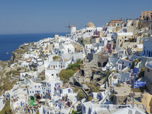 Oia Ia in Greece Stock Photo