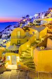 Oia, isla de Santorini, Grecia, Europa Imagenes de archivo