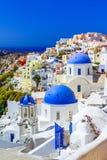 Oia, isla de Santorini, Grecia, Europa Imagen de archivo libre de regalías